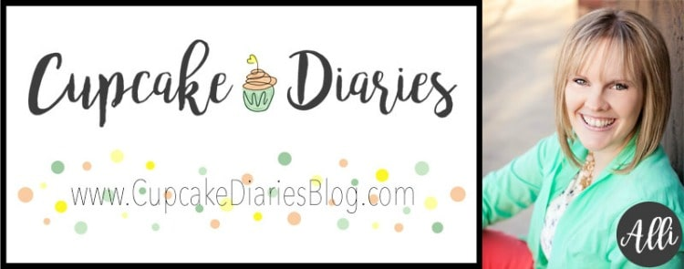 Alli from CupcakeDiariesBlog.com