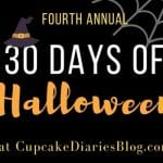"Cupcake Diaries ""30 Days of Halloween"" 2016"