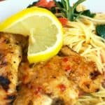 Copycat Johnny Carino's Lemon Rosemary Chicken