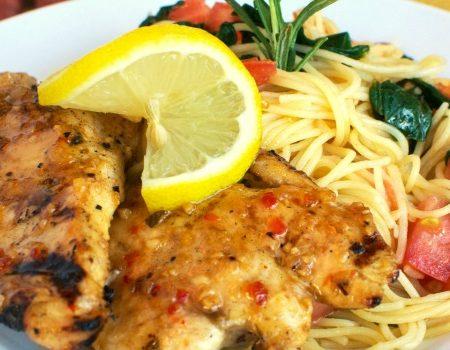 Copycat Johnny Carino's Lemon Rosemary Chicken