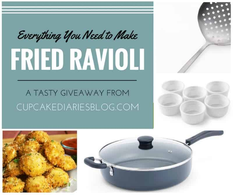 Fried Ravioli Giveaway