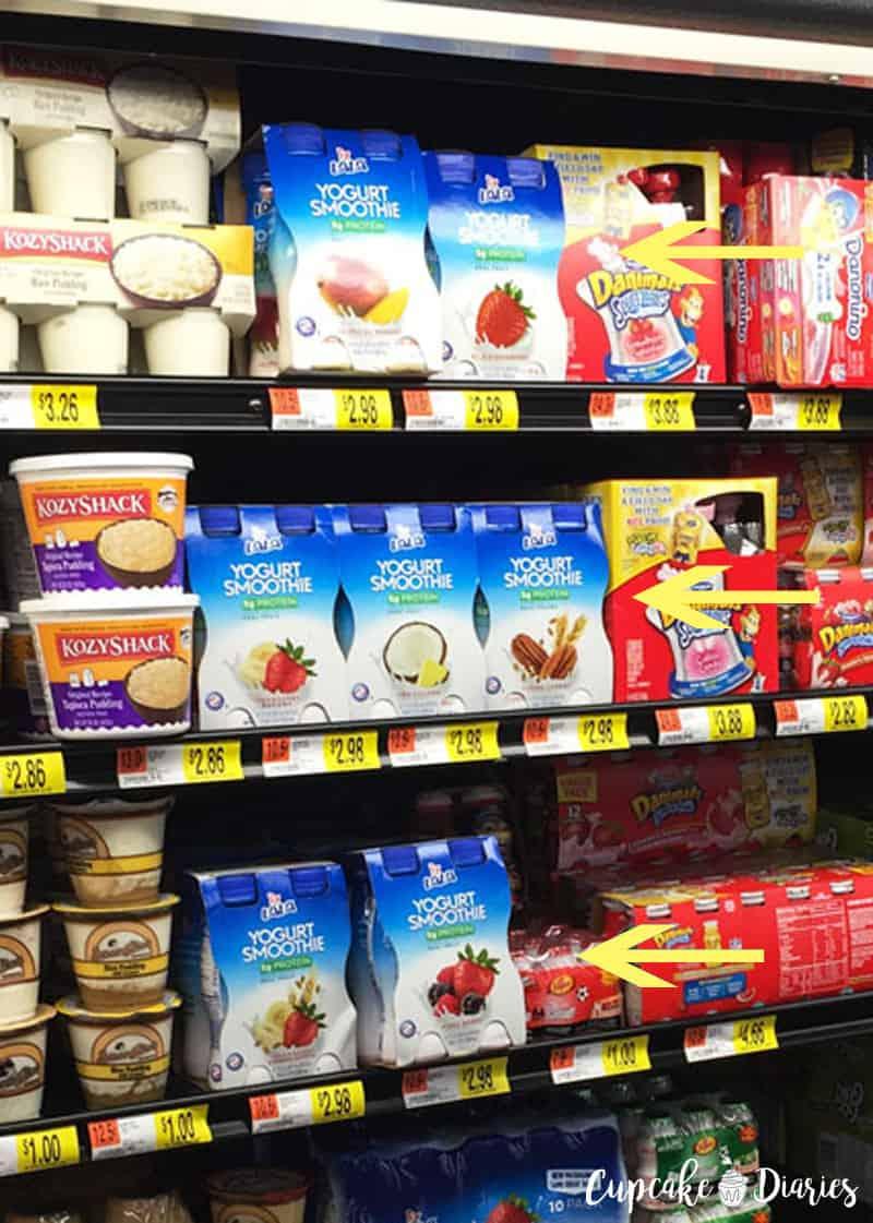 LALA Yogurt Smoothies at Walmart