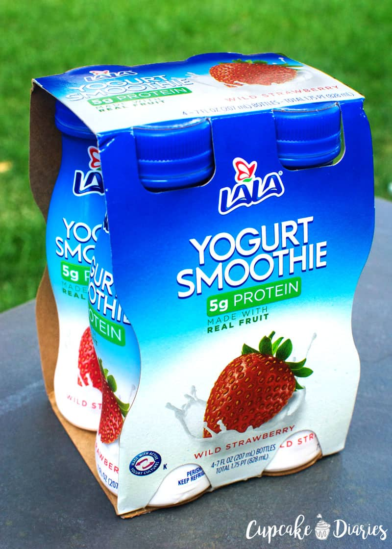 LALA Yogurt Smoothies from Walmart