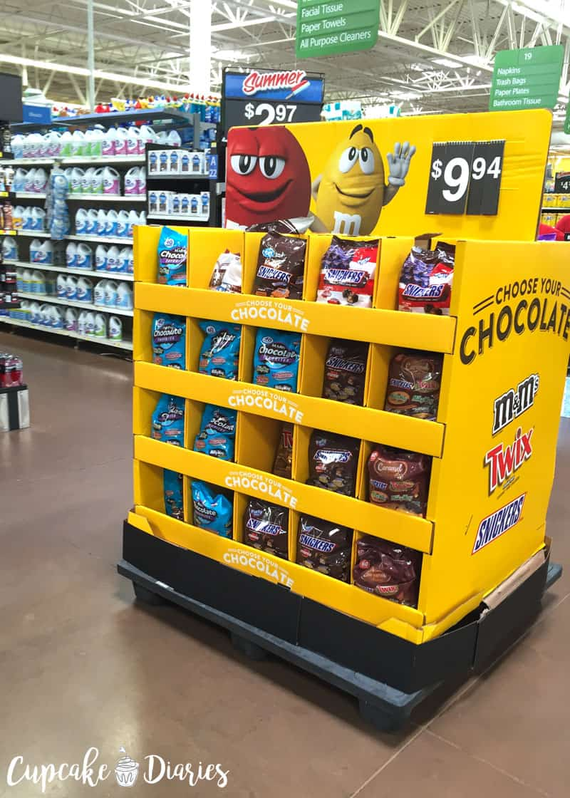Mars Chocolate at Walmart