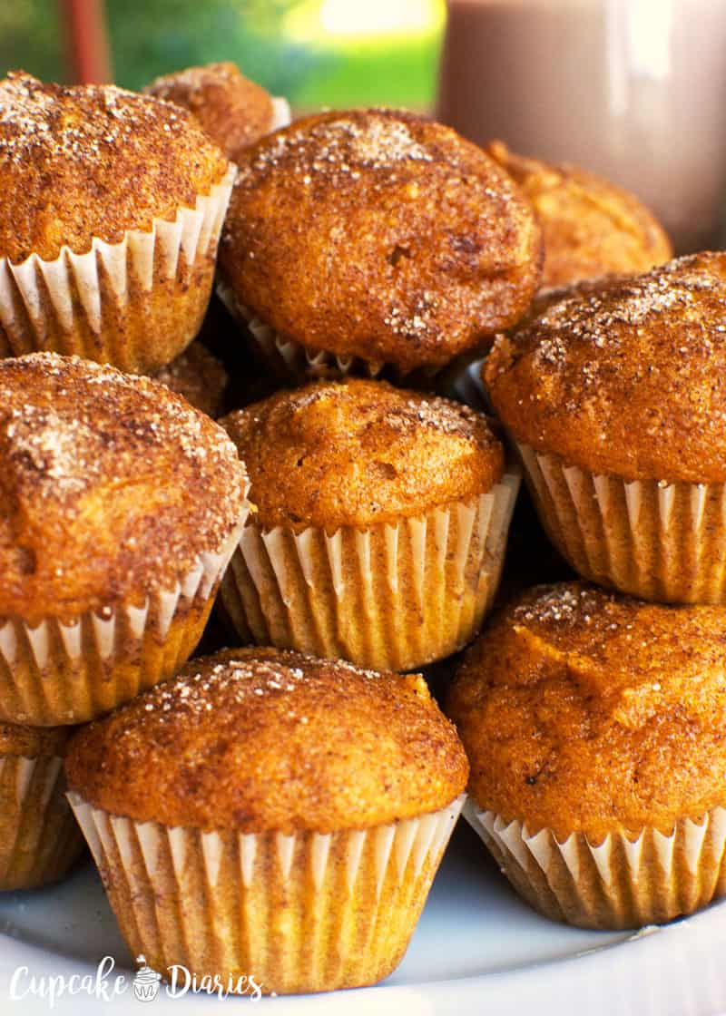Pumpkin Mini Muffins
