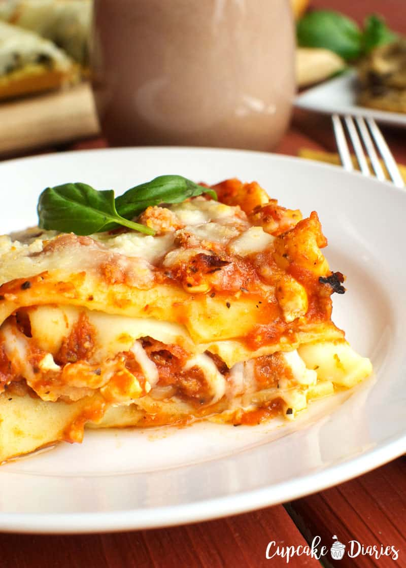 Stouffer's Meat Lasagna