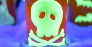 Glow-in-the-Dark Halloween Clings – 30 Days of Halloween 2016: Day 23
