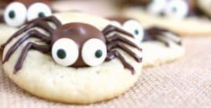 Caramel Spider Cookies – 30 Days of Halloween 2016: Day 16