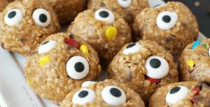 No Bake Monster Bites – 30 Days of Halloween 2016: Day 9