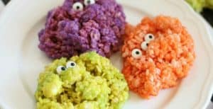 Monster Rice Krispie Treats – 30 Days of Halloween 2016: Day 5