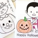 Printable Halloween Coloring Books – 30 Days of Halloween 2016: Day 20
