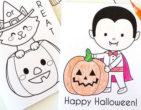Printable Halloween Coloring Books