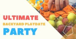 The Ultimate Backyard Playdate Party with Free Printable Slime Kit Tags