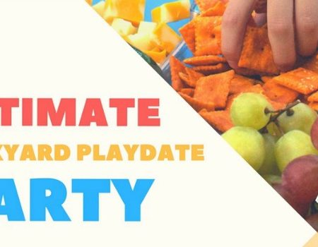 Ultimate Backyard Playdate Party