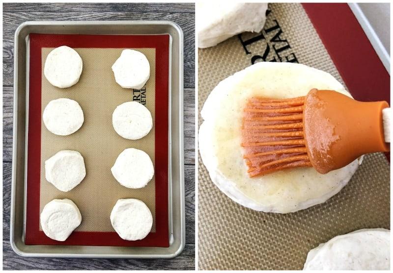 Honey Glazed Biscuits