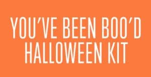 """You've been BOO'd"" Halloween Kit – 30 Days of Halloween 2016: Day 10"