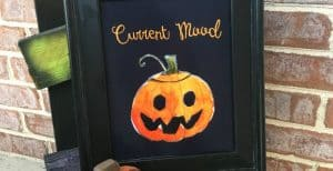 """Current Mood"" Halloween Printable Decor- 30 Days of Halloween: Day 18"