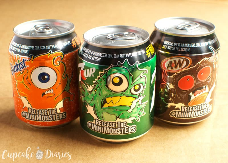Halloween Monster Cans