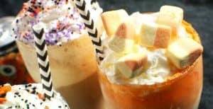 Halloween Soda Floats