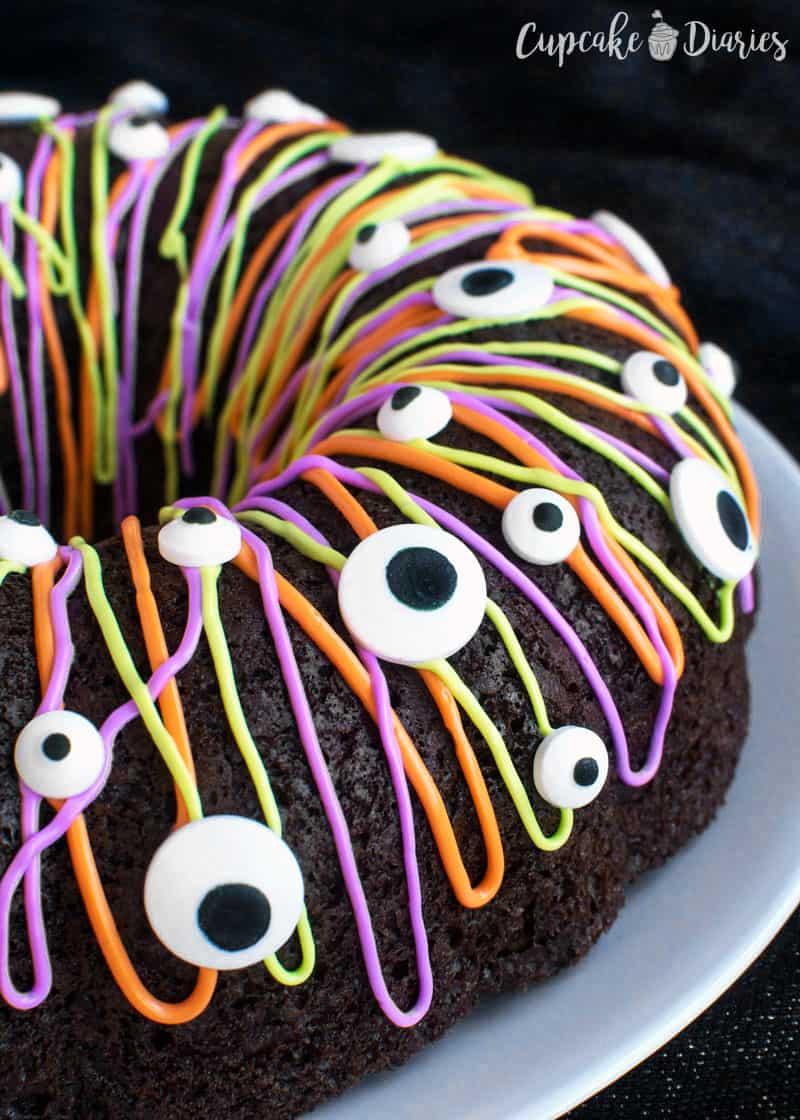 Rainbow Cake Bundt