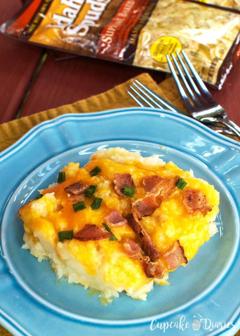Easy Loaded Mashed Potatoes