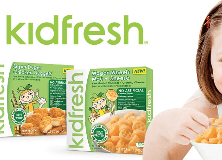 Kidfresh Frozen Meals at Walmart
