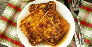 Eggnog French Toast