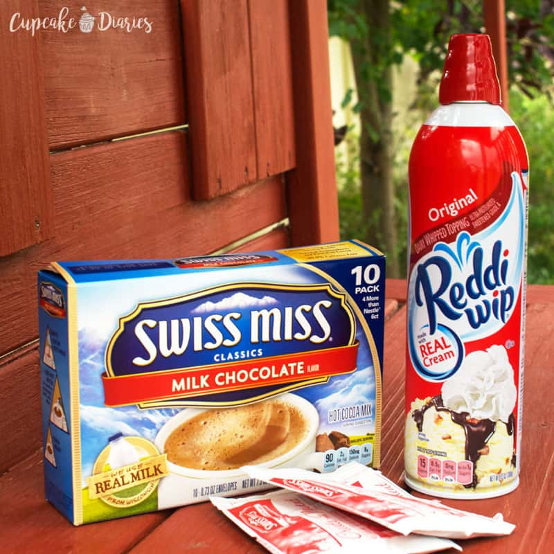 Swiss Miss and Reddi Wip