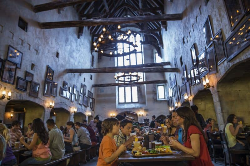 The Leaky Cauldron in Diagon Alley at Universal Studios Florida