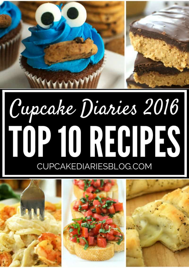 Cupcake Diaries Top 10 Recipes of 2016