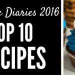 Cupcake Diaries Top 10 Recipes of 2016