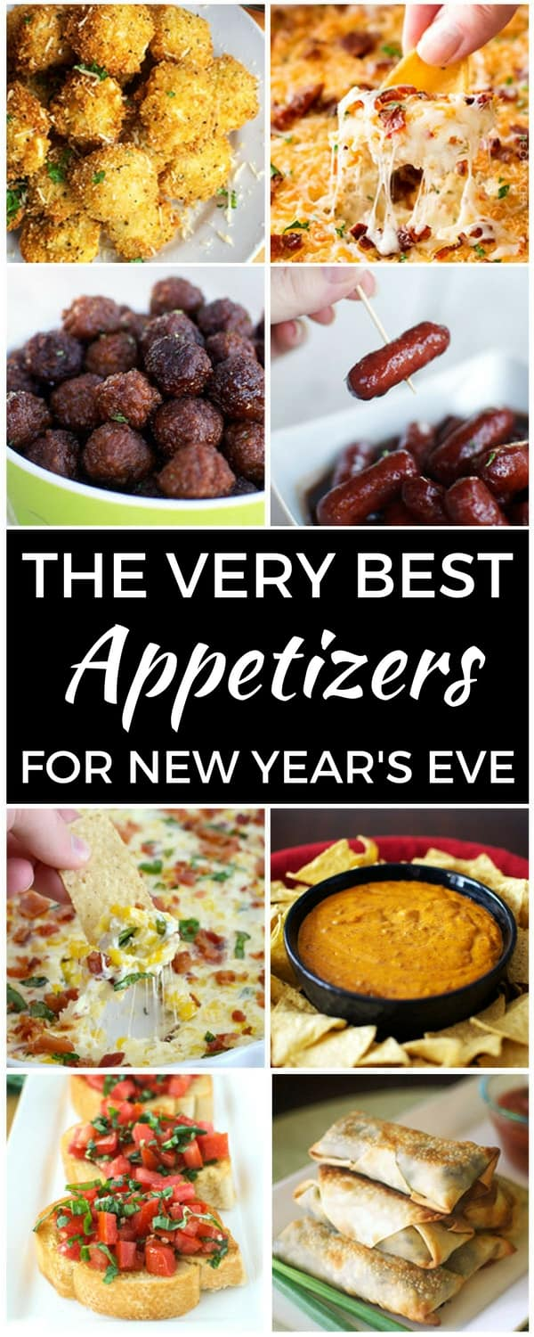 The very best appetizers for new year 39 s eve for Appetizer ideas for new years eve party