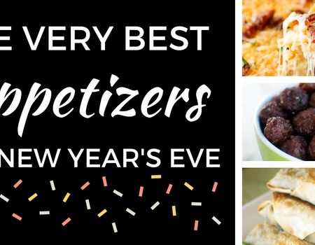 The Very Best Appetizers for New Year's Eve