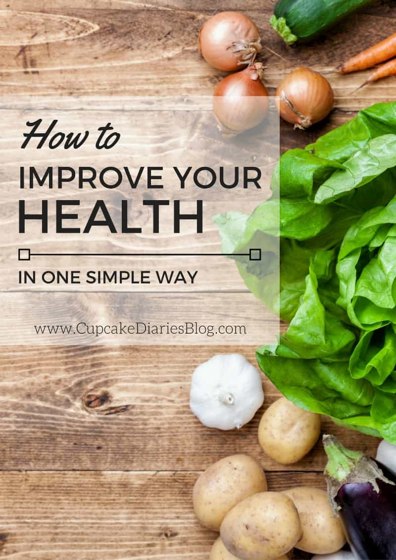 How to Improve Your Health in One Simple Way