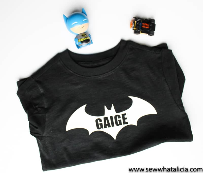 Batman Shirt Tutorial