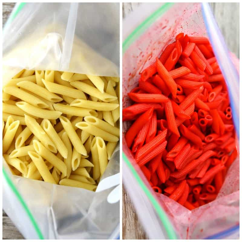 Barilla Pronto Penne Before and After
