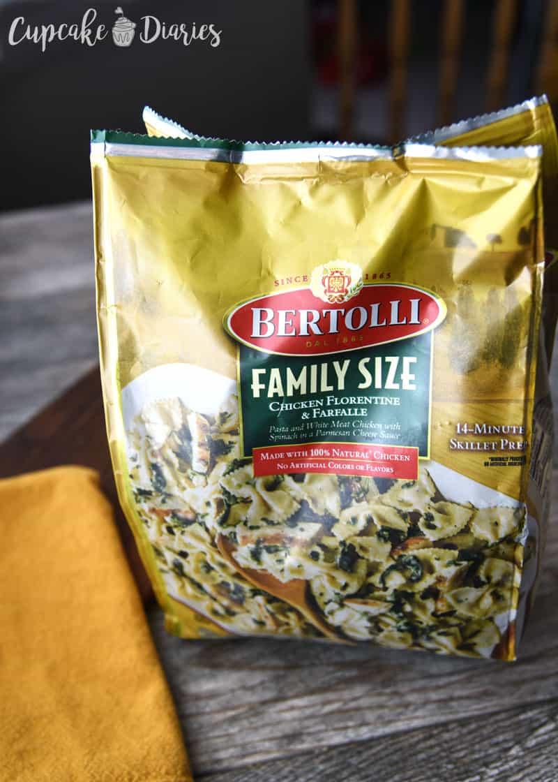 Bertolli Chicken Florentine & Farfalle Pasta, 24 oz.