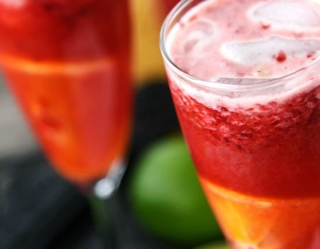 Raspberry-Orange Sparkling Punch