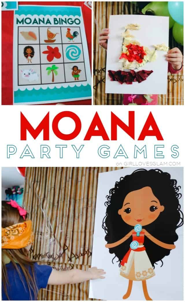 Moana Party Games