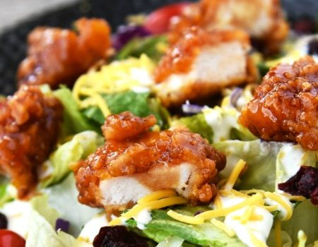 Copycat Winger's Sticky Finger Salad