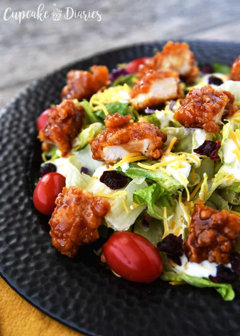 Copycat Winger's Sticky Finger Salad