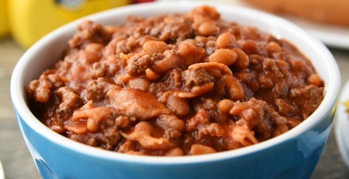 Baked Beans - This hearty side dish is perfect for picnics and BBQ's!