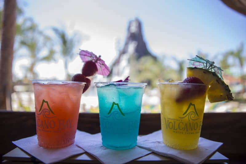 Beverages at Volcano Bay, Universal Orlando Resort