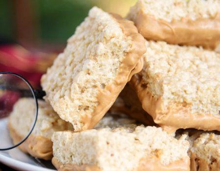 Butterbeer Krispy Treats