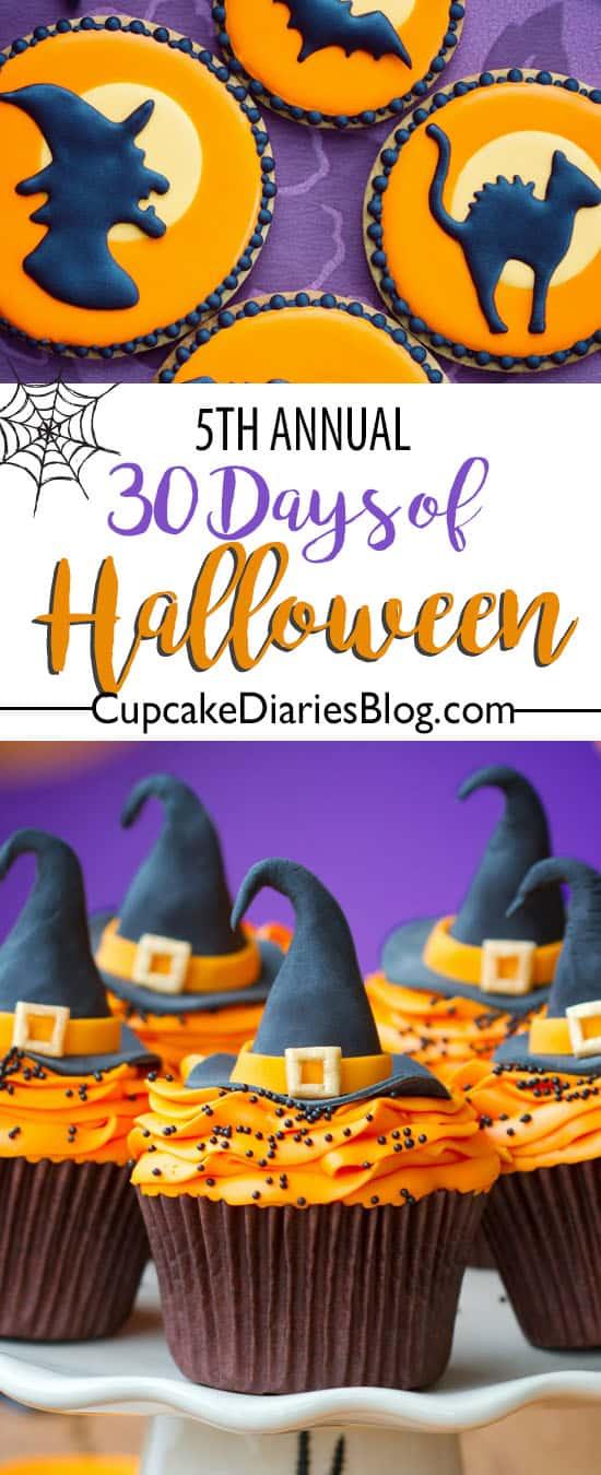 "Cupcake Diaries 5th-Annual ""30 Days of Halloween"""