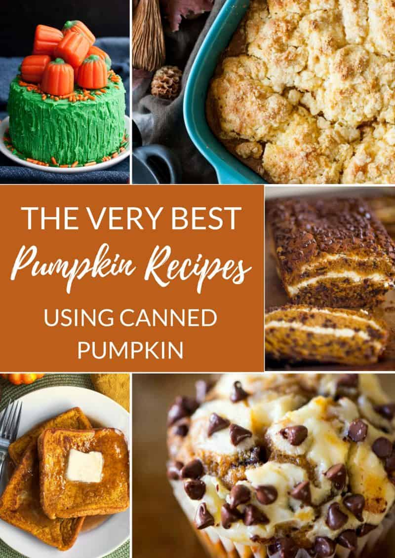 The Very Best Pumpkin Recipes You Can Make with Canned Pumpkin