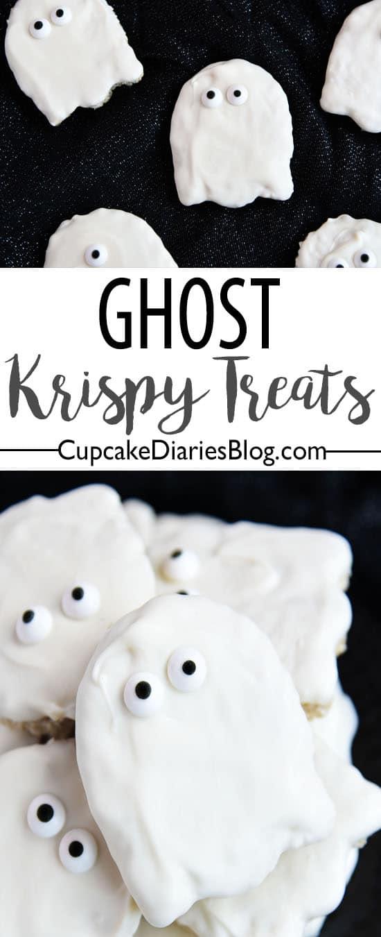 Ghost Krispy Treats