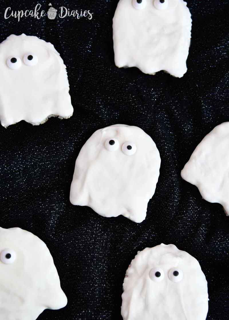 Ghost Krispy Treats   Days Of Halloween  Day