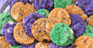 Funfetti Halloween Cookies – 30 Days of Halloween 2017: Day 3