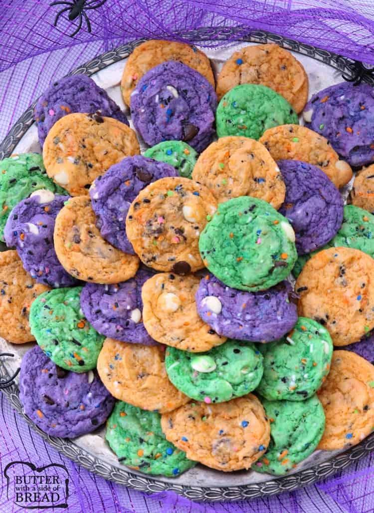 Funfetti Halloween Cookies